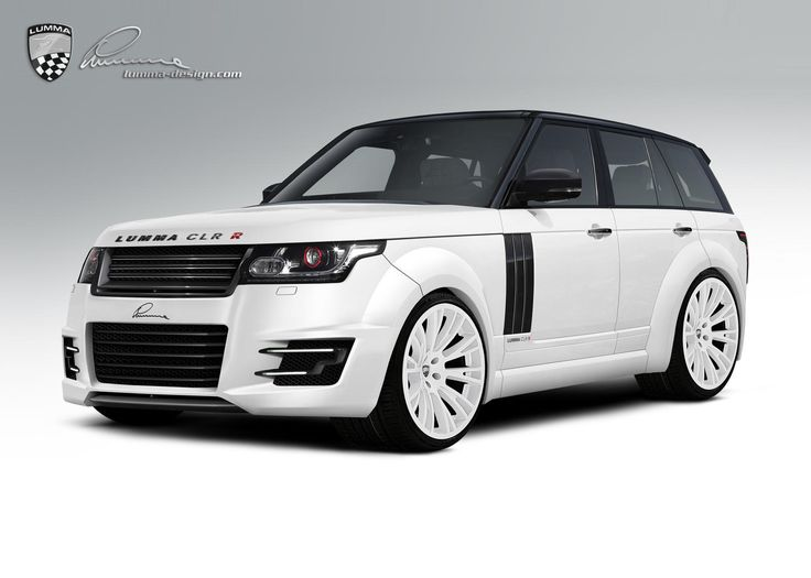 White Range Rover Lumma CLR R A Dtream First New Car Of Mine And This Very  Color.