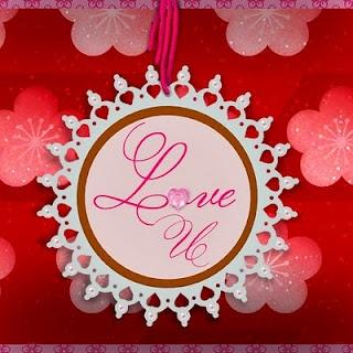 valentine button art