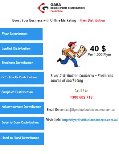 Boost Your #Business With Flyer Distribution Canberra