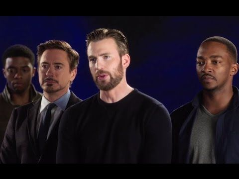 CAPTAIN AMERICA: CIVIL WAR Spot - Cast Hilariously Singing Together (201...
