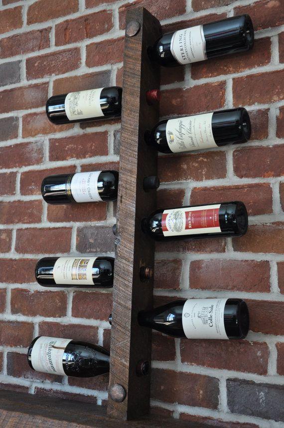 best 25 homemade wine racks ideas on pinterest. Black Bedroom Furniture Sets. Home Design Ideas