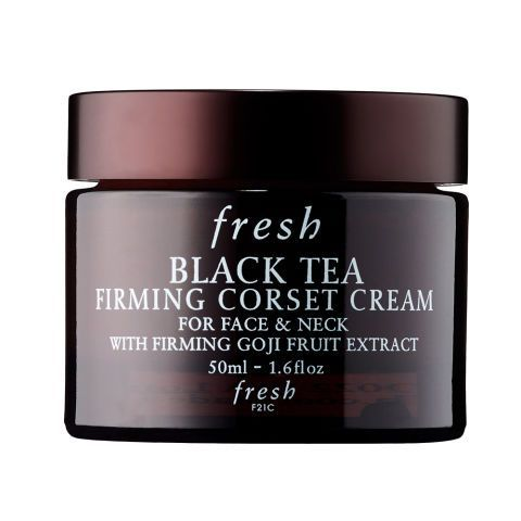 """$91BUY NOW They don't casually call this formula """"corset cream"""" for nothin'! Black tea ferment and extract is a key ingredient to improve skin elasticity and inhibit damaging free radicals, while the included goji fruit extract improves firmness and provides a youthful glow. It's like a pick-me-up for your face and neck! More :15 Face Moisturizers to Add to Your Skincare Routine"""