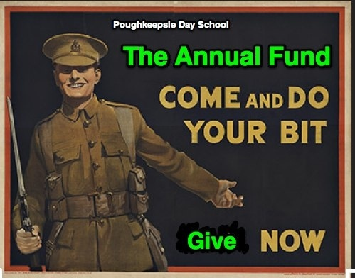 AF  come and do your bit by Poughkeepsie Day School, via Flickr