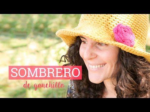 Cómo hacer un sombrero de ganchillo | crochet hat - YouTube