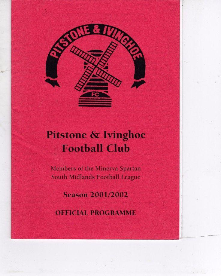 PITSTONE & IVINGHOE V WINSLOW UNITED SPARTAN SOUTH MIDLANDS LEAGUE 30/4/2002 | eBay