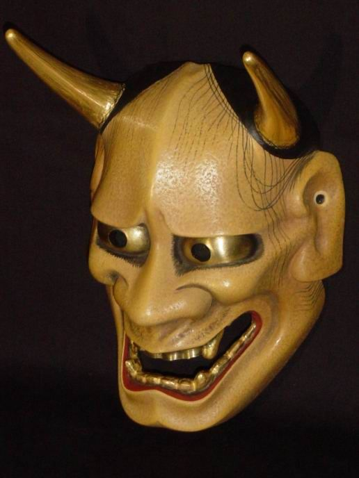52 best images about hannya mask on pinterest samurai prismacolor and toronto. Black Bedroom Furniture Sets. Home Design Ideas
