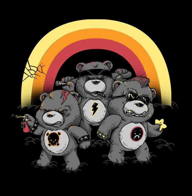 The Don't Care Bears