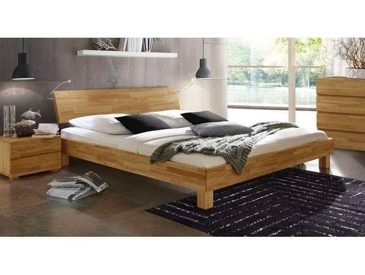 Massivholzbett Monza 120x220 Cm Buche Wengefarben Betten De