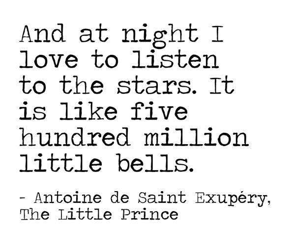 Listen to the stars...