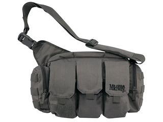 MidwayUSA Bail Out Bag  -  Designed to keep the essentials close to you for all types of situations, the MidwayUSA Bail Out Bag delivers features that come in handy when you need them most.  Whether you keep it ready for active shooter situations, ready to deploy in your vehicle, or use it for competition moving from stage to stage, the Bail Out Bag will keep your gear all in one convenient location.