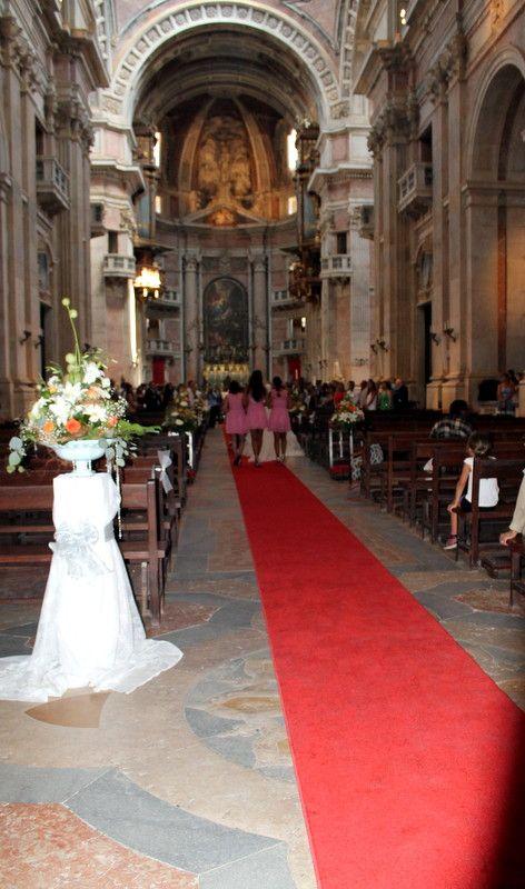 Aluguer passadeira vermelha Convento de Mafra