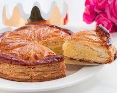 Galette des rois à la frangipane et à la vanille  Ingrédients