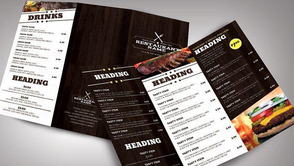 31 Printable Menu Designs Free Psd Pdf Format Download Menu