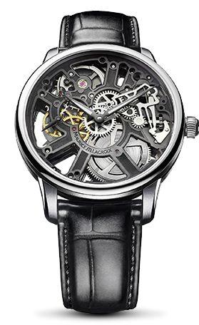 Een zeer bijzonder Maurice Lacroix horloge. Deze masterpiece skelet handopwinding is een prachtig model uit de nieuwe collectie. Verkrijgbaar bij Juwelier Lanckohr in Kerkrade