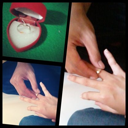 #Best moment#tunangan#with beloved