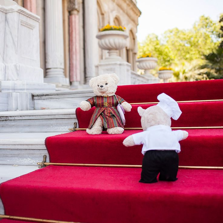 Place: East Garden, stairs… Is this the beginning of the love story of the century? #ChefTeddy #TeddyGirl