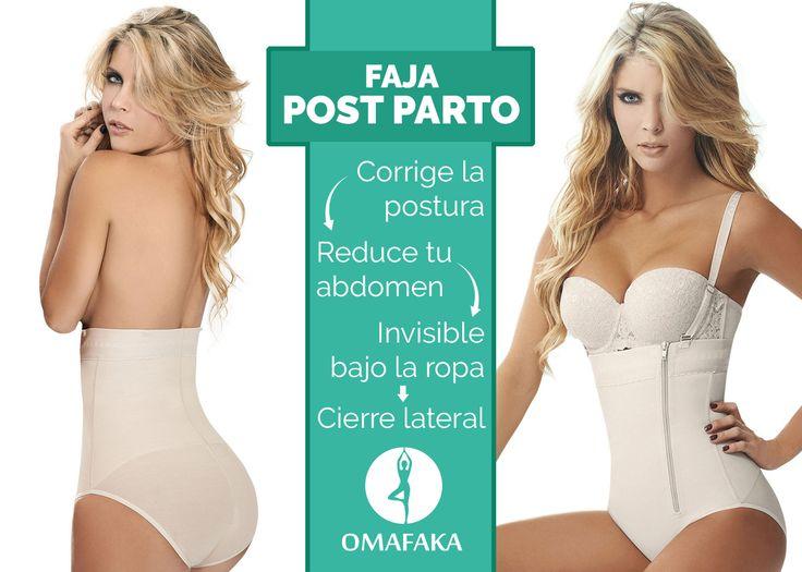 Ideal para formar tu cintura después del embarazo.  #fajapostparto #cinturadelgada #salud #belleza #cuidado #confort #omafaka