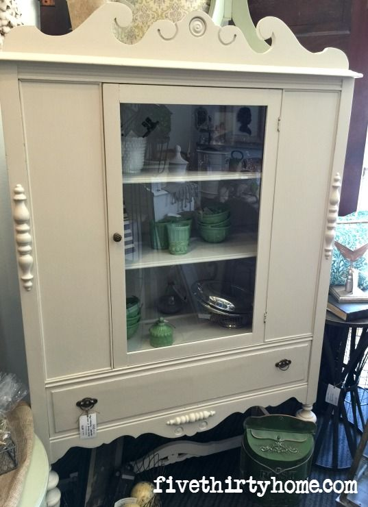 China Cabinet In Miss Mustard Seeds Marzipan