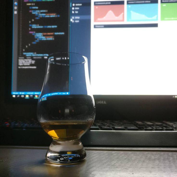 Some midnight programming with a great dram of Cardhu!  #javascript #js #whisky #coding #programming #dram #scotch #cardhu #vscode #chartjs whiskey #whiskygram #instadram #dram #dashboard #development #webdeveloper #speyside #specialcask #reactjs  #scotchwhisky