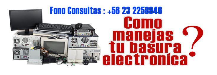 Reciclaje de basura electronica y computacional