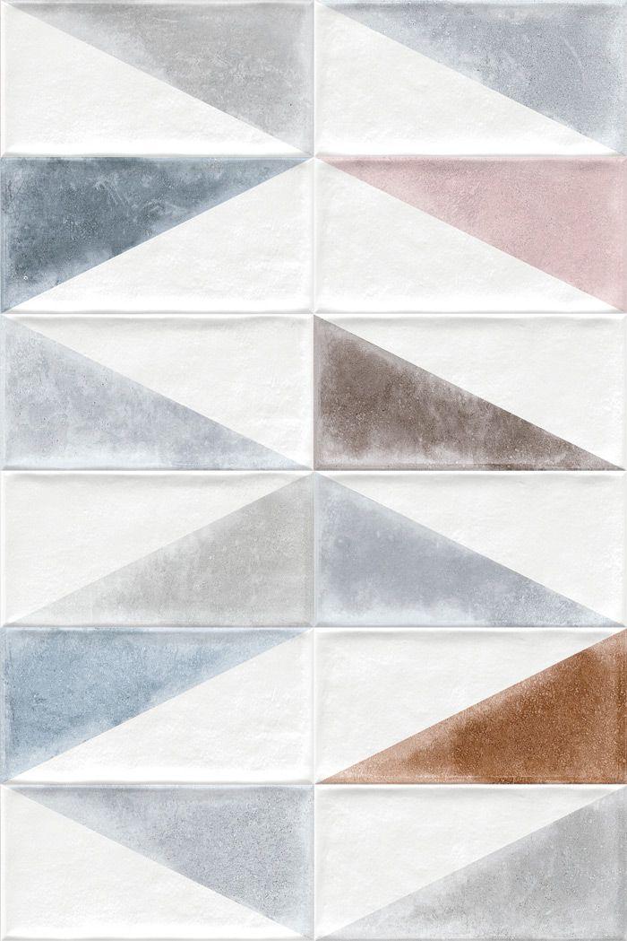 ETNIA: Rabari Multicolor - 10x20cm. | Revestimiento - Pasta Roja | VIVES Azulejos y Gres S.A.