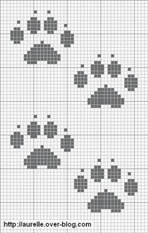 paw prints…. by alyce