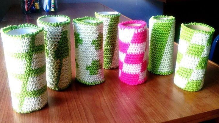 cilindros de tapestry crochet