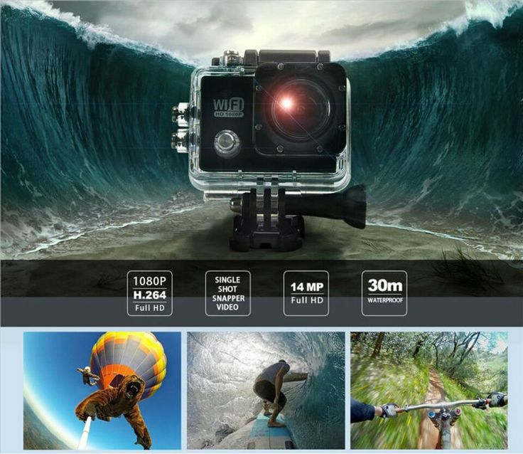 Like a GoPro Hero 4 Style!: http://www.goomart.net/products/gopro-hero-4-style-original-sj6000-wifi-action-camera-30m-waterproof-1080p-full-hd-14mp-2-0-lcd-go-pro-camerabatterycharger/ #ActionCamera #GoPro #WIFi #GoodQuality