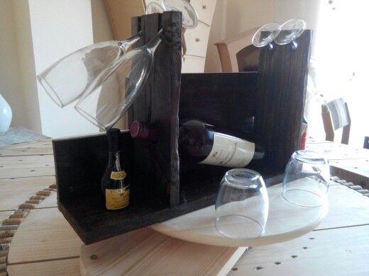 #Botellero en #palet #reciclado.