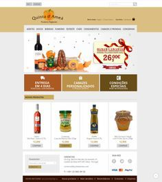 Quinta da Ameã #LojaOnline #Webdesign