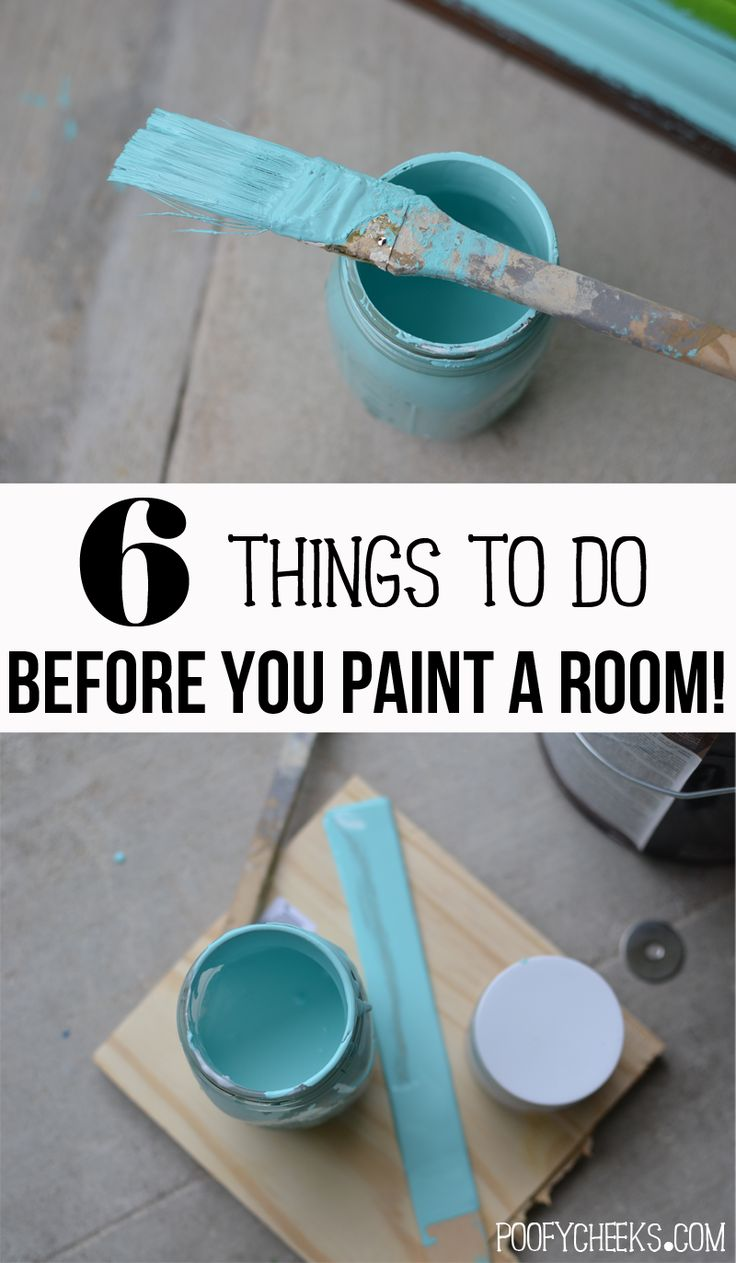 6 Things To Do Before Painting A Room Diys Crafts
