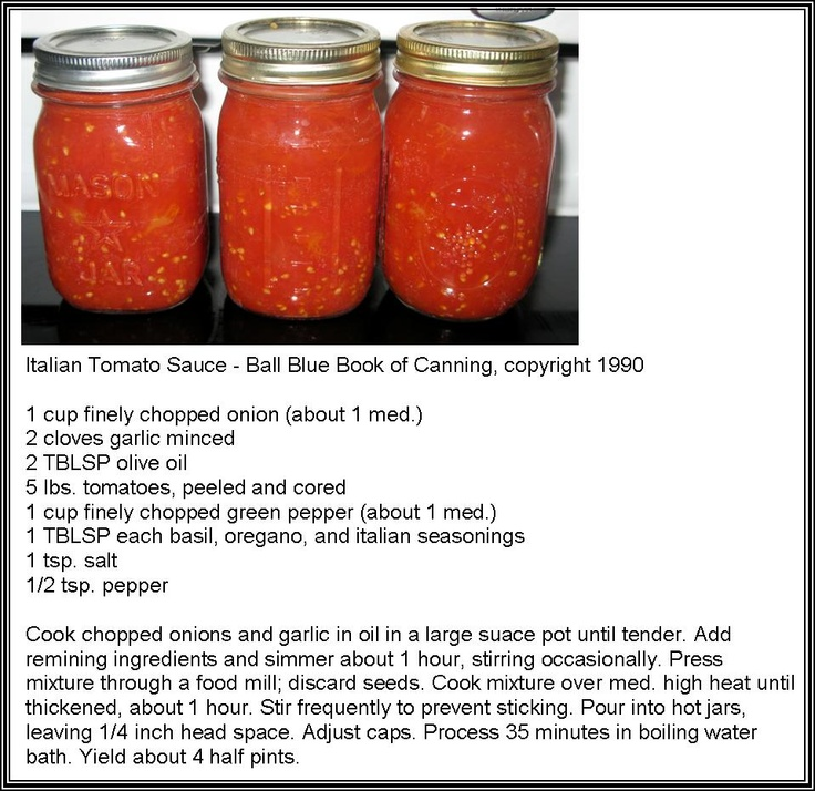 1339 best recipes canningpreservingfood storage images on best scratch spaghetti sauce ive found and no not from already forumfinder Gallery