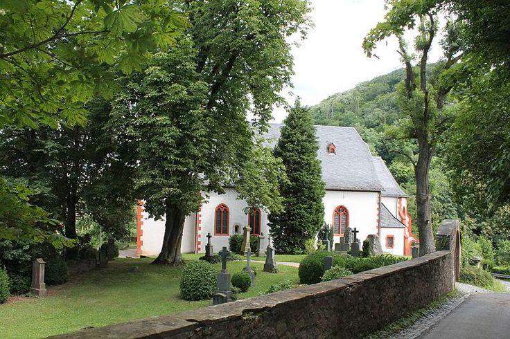 Die Bergkirche in Bensheim-Auerbach, Hessen, Germany. #ToHellAndBack #MariaRosaAuthor #Germany #church #travel