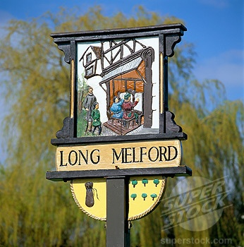 Long Melford, Suffolk.
