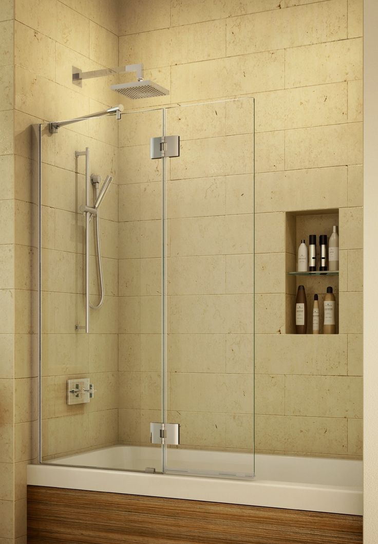 not the same but with 2 of these 2 fixed 2 opening panels bathtub - Bathtub Enclosures