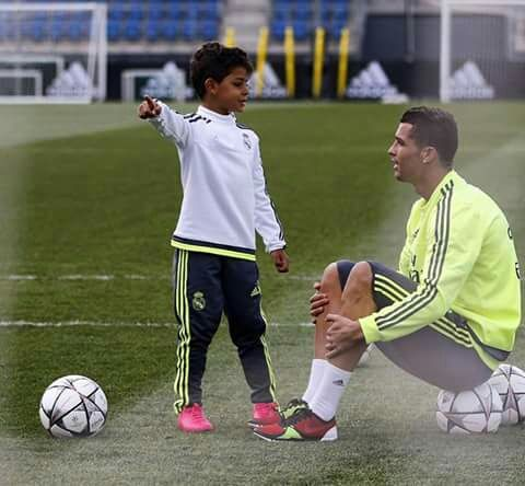 cristiano ronaldo, real madrid, and cute image