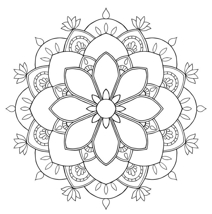 1157 Best Mandalas Images On Pinterest