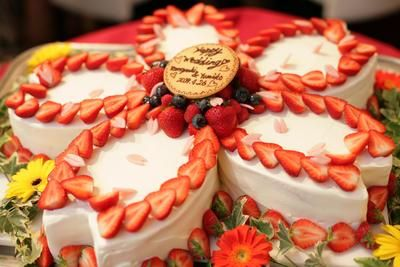 ウェディングケーキ1