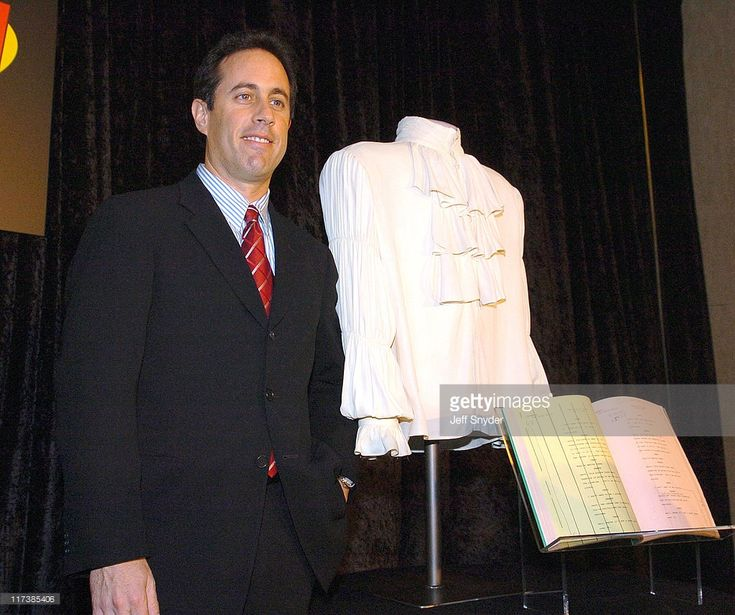 Jerry Seinfeld and the 'Puffy Shirt' from and episode of 'Seinfeld'