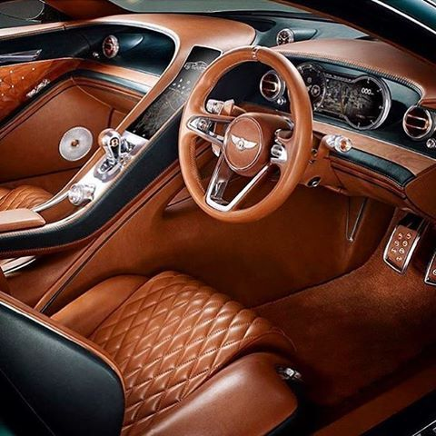 The Ultimate Luxury Car Interior The Bentley Speed 6