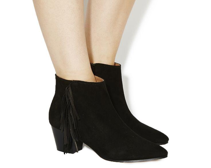 Idaho Fringe Boots