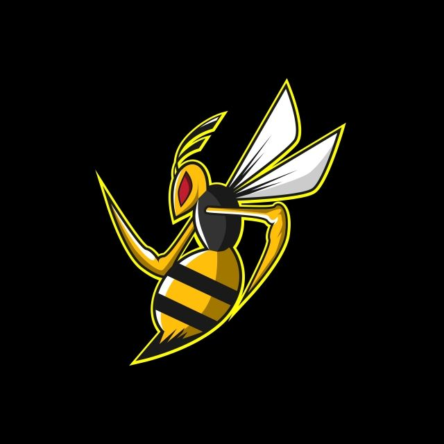Bee Esports Logo Esport Illustration Logo Png And Vector With