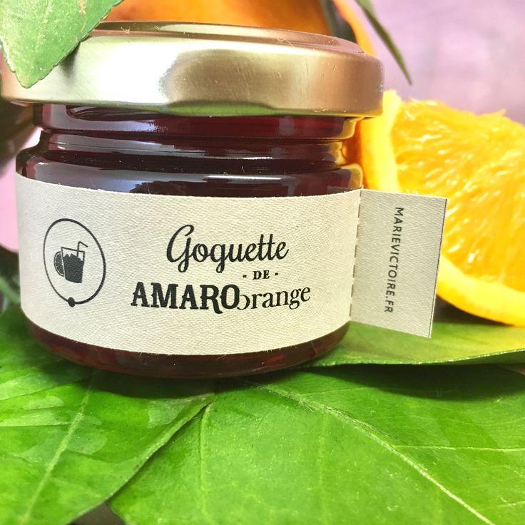 Goguette de Amaro Orange Une puissance et une amertume en bouche qui réjouira les puristes de ce bitter italien. Sa texture onctueuse permet un joli contraste avec des mets doux comme le chocolat.
