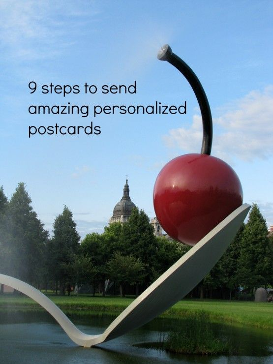 9 steps to send postcards. A great way to easily make a deposit in a relationship