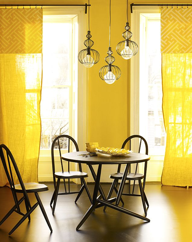 Sunshine photographed by Chris Everard for Living Etc