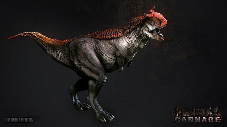 primal carnage | Primal Carnage Dinosaur and Assets by Kevin Bryant