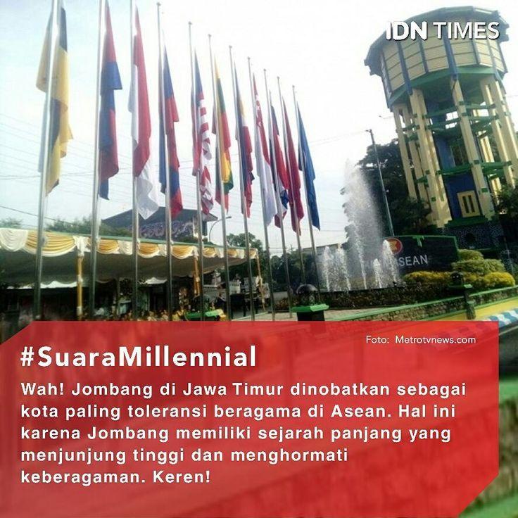 10 bendera anggota ASEAN (Association South East Nation) beserta 1 bendera ASEAN telah resmi berkibar di Kota Jombang, Jawa Timur pada tanggal 2 Juni 2017. Tepatnya di kawasan Bundaran Ringin Contong, persimpangan jalan KH Wahid Hasyim, jalan Ahmad Yani, dan jalan KH Abdurrahman Wahid. . Pengibaran ke-11 bendera tersebut disertai juga dengan peresmian Taman ASEAN. Pembuatan taman ini sebagai tanda predikat yang diterima kota Jombang sebagai The Most Harmonious City in ASEAN atau kota paling…