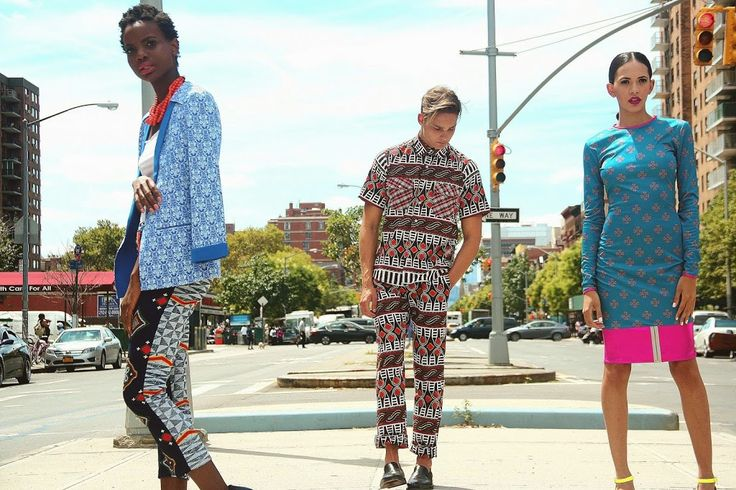 Kibonen NY presents her SS2015 collection at NY Fashion Week | African Prints in Fashion