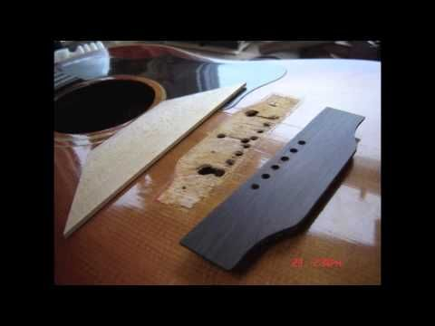 Electric Guitar Bridge Loose : 39 60s gibson j 45 bridge and bridge plate replacement youtube guitar repairs bridge plates ~ Russianpoet.info Haus und Dekorationen