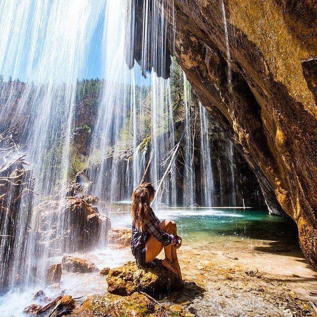 hanging lake trail Glenwood Canyon, Glenwood Springs Colorado
